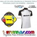Maillot Ciclismo Logo Bianchi con nombre + bandera