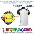 Maillot Ciclismo Logo Cannondale con nombre + bandera