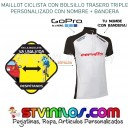 Maillot Ciclismo Logo Cervélo con nombre + bandera Cervelo