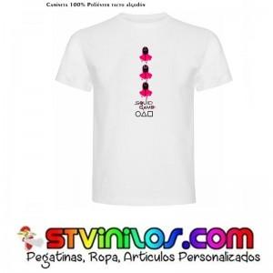 Camiseta El Juego del Calamar Squid Game Mod 3