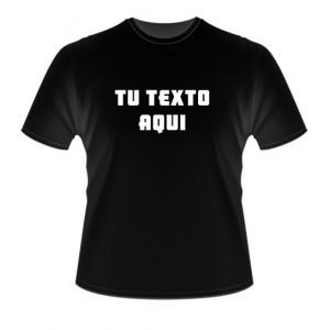 Camiseta Personalizada Con Tu Texto