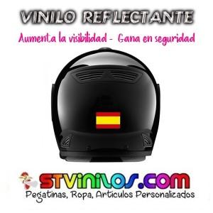 Pegatina Bandera España Reflectante
