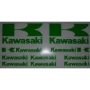 Pegatinas Kawasaki Modelo 1