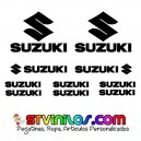 Pegatinas Suzuki Modelo 1