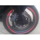 Pegatinas Llantas Moto Coche Reflectante Sport