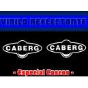 Pegatina Reflectante Casco Moto Caberg