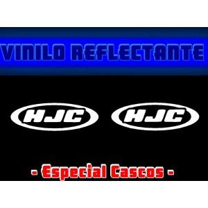 Pegatina Reflectante Casco Moto HJC