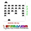 Vinilo Decorativo Space Invaders