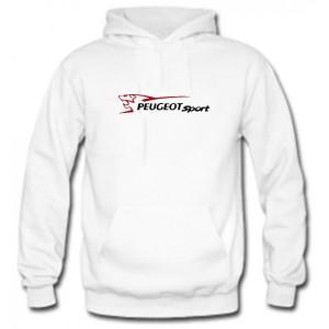 Sudadera Peugeot Sport Blanca