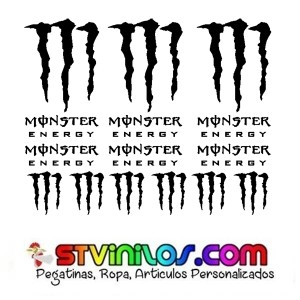 Pegatinas Monster Energy Modelo 1