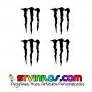 Pegatinas Garras Monster Energy