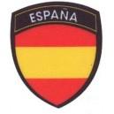 "Parche Estampado Bandera España ""Escudo Policia"""