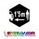 Pegatina Respeto Ciclista 1,5 Metros