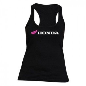 Camiseta Mujer Honda Nadadora Tirantes