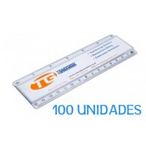 Regla Publicitaria 15 CM 100 unidades