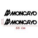 Vinilo Caravana Moncayo 55x10,4 Cm