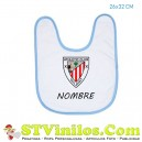 Babero Athletic Club Bilbao Personalizado Nombre