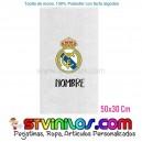 Toalla Real Madrid Personalizada 50x30 Cm