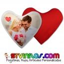 Cojin Forma de corazon Personalizado con Foto