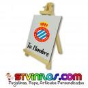 Caballete RCD Espanyol azulejo personalizado con nombre
