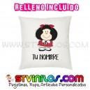 Cojin Mafalda Personalizado con Nombre