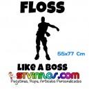 Floss Like a Boss Fortnite Repeat Decorativo Pared