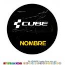 Oblea Cube Personalizada con nombre