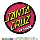 Oblea Santa Cruz Personalizada con nombre