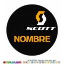 Oblea Scott Personalizada con nombre