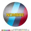 Oblea BMW Serie M Personalizada con nombre
