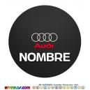 Oblea Audi Personalizada con nombre