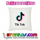Cojin Logo Tic Toc