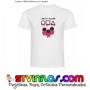 Camiseta El Juego del Calamar Squid Game