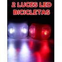 Luces LED Silicona para Bici Modelo 2