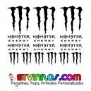 Pegatinas Monster Energy Modelo 1