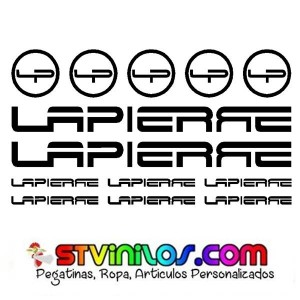 Kit Pegatinas Bicicleta Lapierre Bici