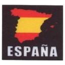 Parche Estampado Bandera España Cuadrado