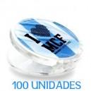 Iman Publicitario Pinza 50 unidades